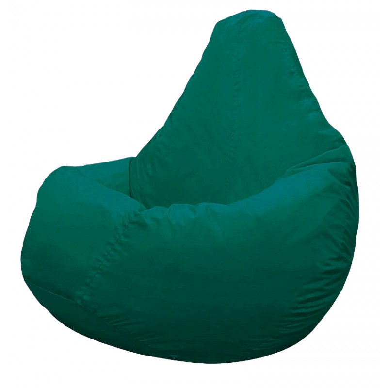 Кресло-мешок Груша Темно-бирюзовая (Дюспо)