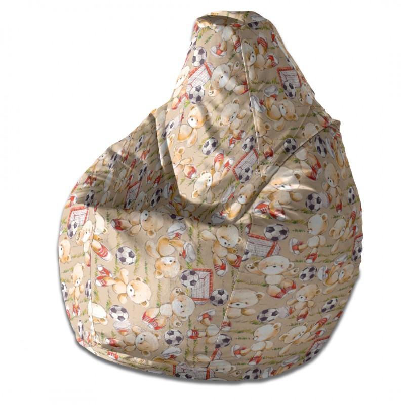 Кресло-мешок груша Мишки