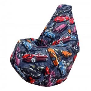 Кресло-мешок груша Феррари (Велюр)