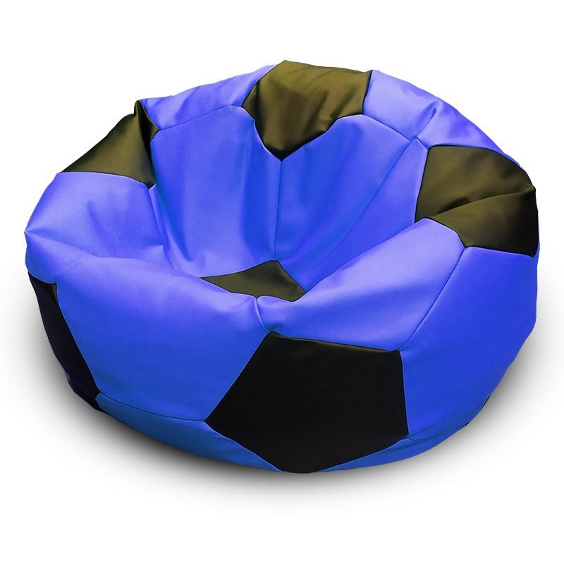 Кресло-мешок Мяч Сине-Черный