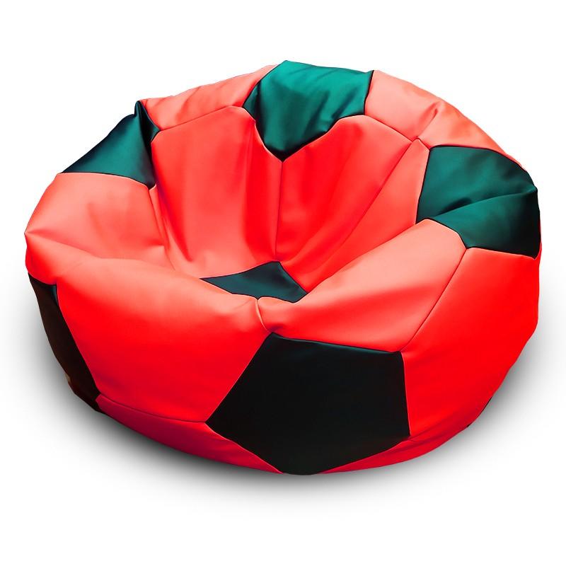 Кресло-мешок Мяч Красно-Черный