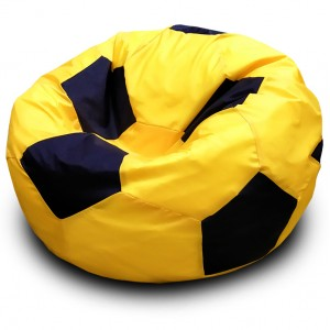Кресло-мешок Мяч Желто-Черный