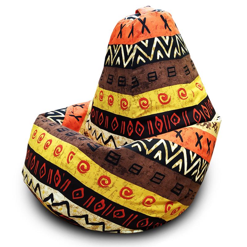 Кресло-мешок Груша Африкан (Жаккард)