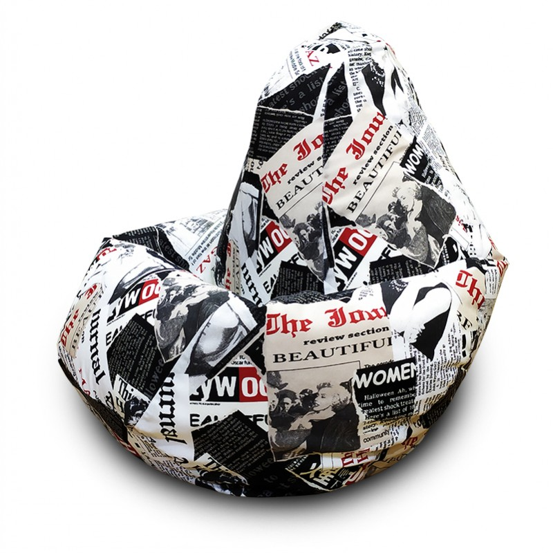 Кресло-мешок Груша Бьюти ( Жаккард )