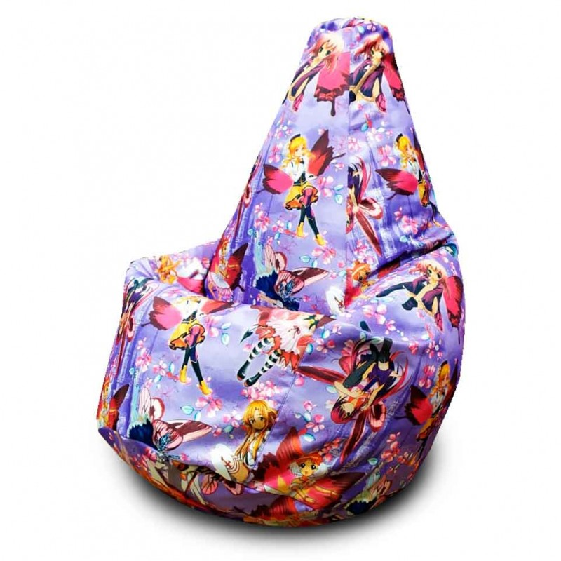 Кресло-мешок груша Феи Винкс (Рогожка)