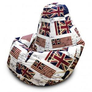 Кресло-мешок Груша Флаг (Жаккард)