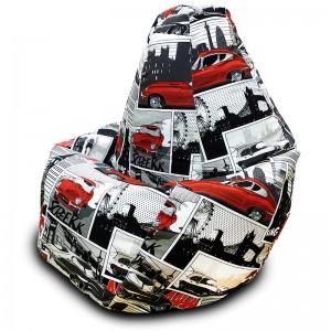 Кресло-мешок Груша Ягуар (Жаккард)
