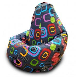 Кресло-мешок Груша Мумбо (Жаккард)