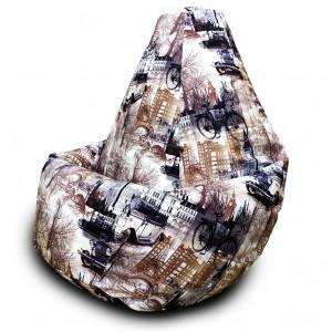 Кресло-мешок груша Paris (Велюр)