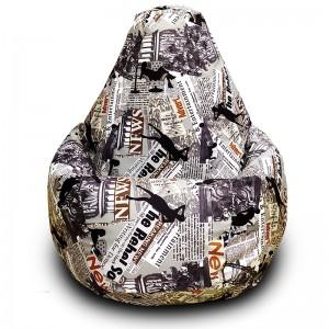 Кресло-мешок груша Ньюз (Велюр)