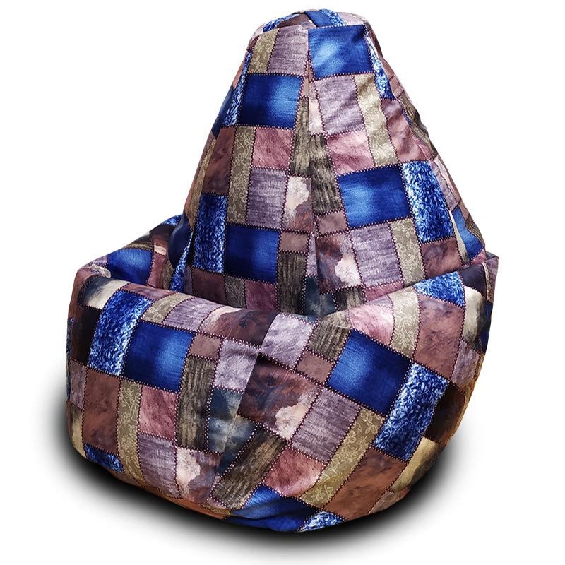 Кресло-мешок груша Лемби (Велюр)