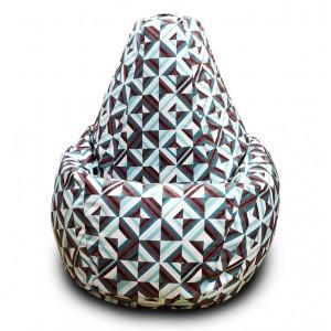 Кресло-мешок груша Ромбо (Велюр)