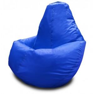 Кресло-мешок Груша Синий (Оксфорд)
