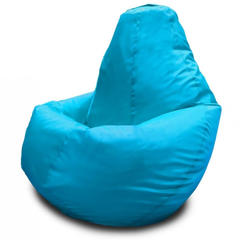 Кресло-мешок Груша Голубой (Оксфорд)
