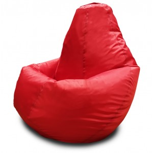Кресло-мешок Груша Красный (Оксфорд)