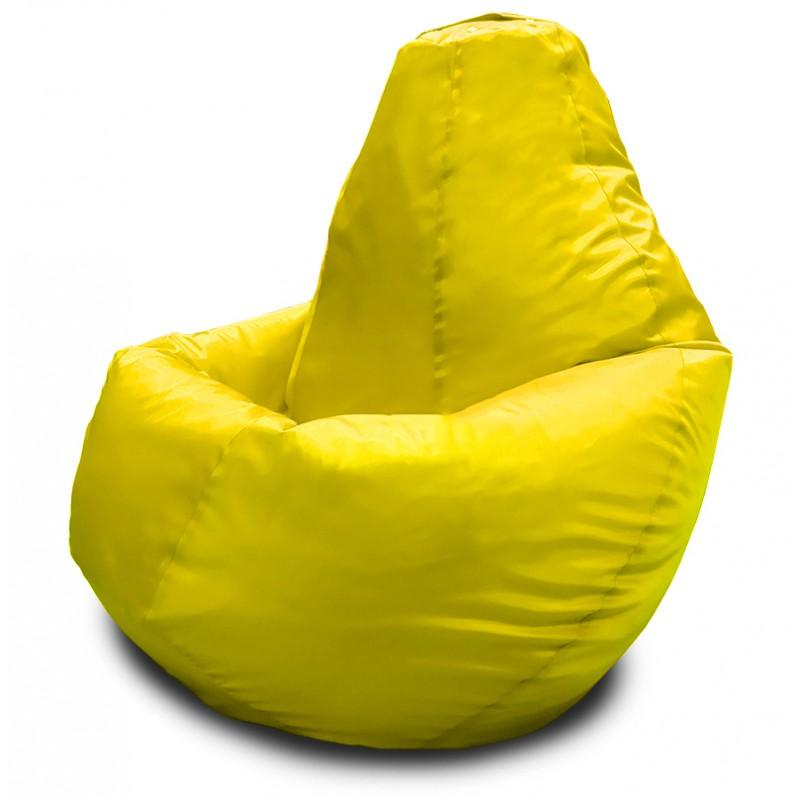 Кресло-мешок Груша Желтый (Оксфорд)