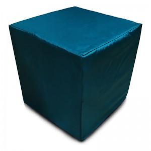 Пуф Кубик Тёмно-зеленый(Оксфорд)