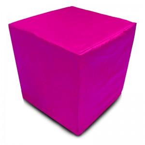 Пуф Кубик Розовый(Оксфорд)
