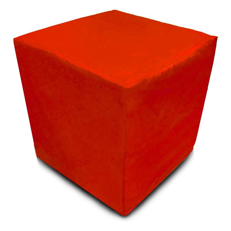 Пуф Кубик Красный(Оксфорд)
