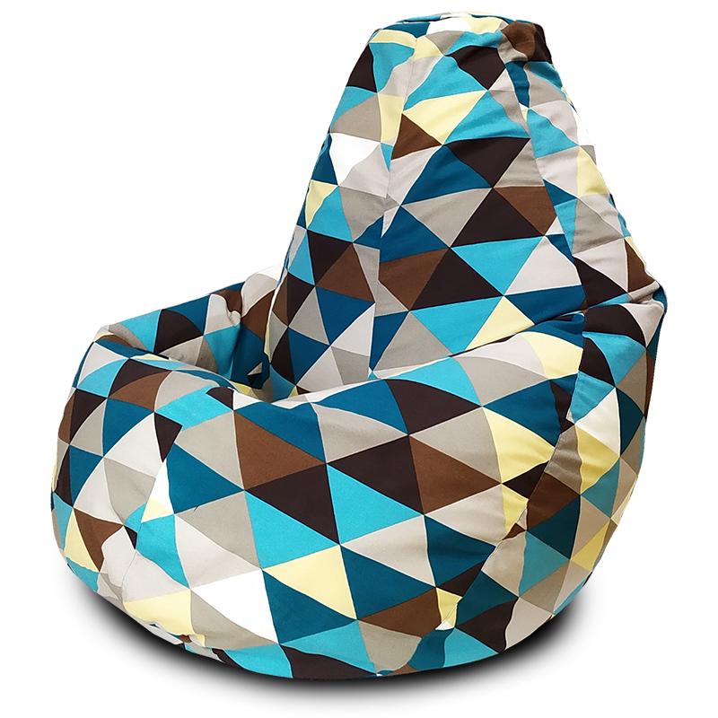 Кресло-мешок Груша Ромб (Жаккард)