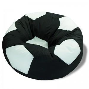 Кресло-мешок Мяч Черно-Белый