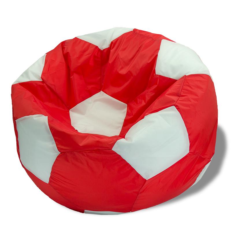 Кресло-мешок Мяч Красно-Белый