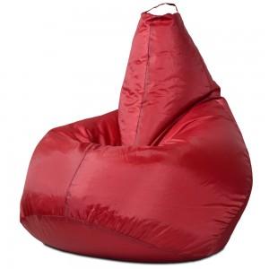 Кресло-мешок Груша Бордовый (Оксфорд)