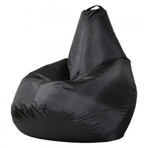 Кресло-мешок Груша Чёрный (Оксфорд) XL