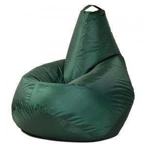 Кресло-мешок Груша Тёмно-зеленая (Оксфорд)
