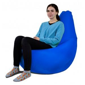 Кресло-мешок Груша Синий (Дюспо)