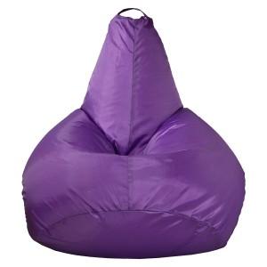 Кресло-мешок Груша цвет Фиолетовый (Оксфорд)