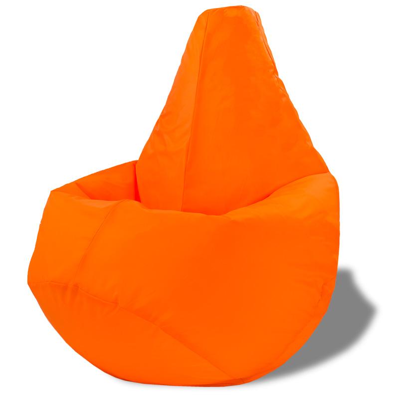 Кресло-мешок Груша Оранжевый (Оксфорд)