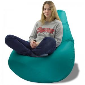 Кресло-мешок Груша Изумрудный (Дюспо)