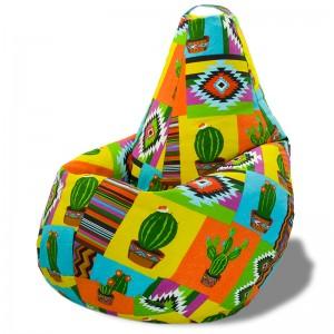 Кресло-мешок Груша Кактус (Жаккард)