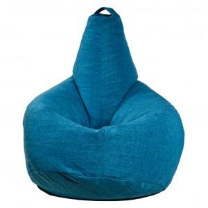 Кресло-мешок груша Бирюзовая (Рогожка)