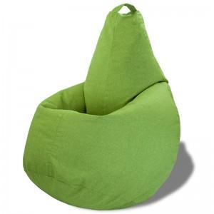 Кресло-мешок груша Салатовая (Рогожка)
