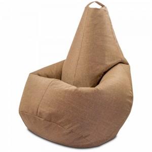 Кресло-мешок груша Бледно-коричневый цвет (Рогожка)