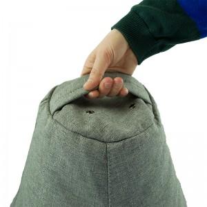 Кресло-мешок груша Серый (Рогожка)