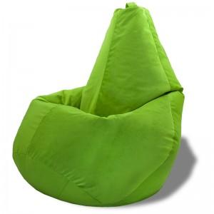 Кресло-мешок груша Зеленый (Велюр)
