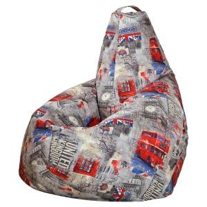 Кресло-мешок груша Лондон (Велюр)