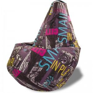 Кресло-мешок груша Смайл (Велюр)