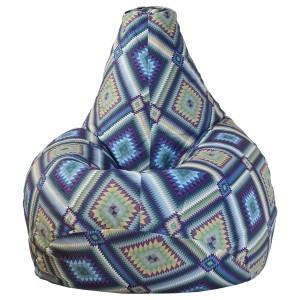 Кресло-мешок груша Этнос (Велюр)