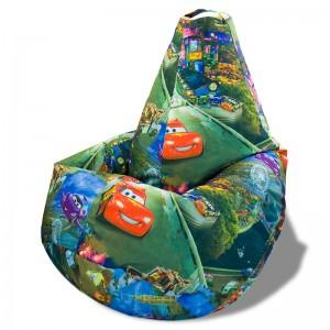 Кресло-мешок груша Молния Маквин (Велюр)
