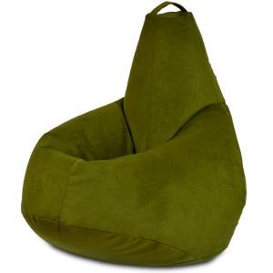 Кресло-мешок груша Оливковый(Велюр)