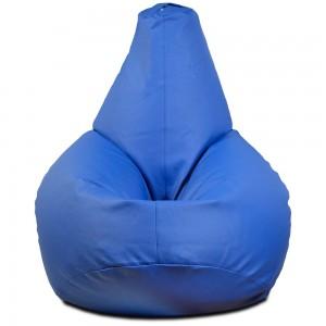 Кресло-мешок Груша Синяя (Экокожа)