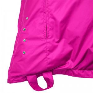 Мягкое кресло-мешок Подушка  цвет Розовый (материал Дюспо)