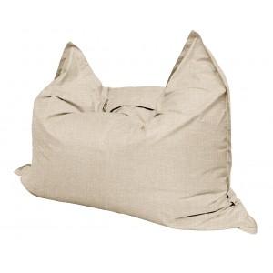 Кресло мешок Подушка Relax цвет светло-бежевый (материал Рогожка)