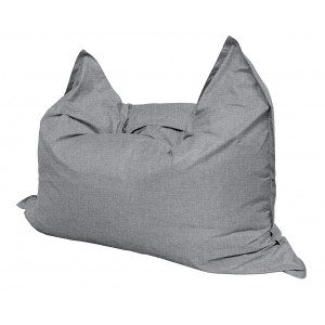 Кресло мешок Подушка Relax цвет серый (материал Рогожка)