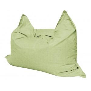 Кресло мешок Подушка Relax цвет светло-зеленый (материал Рогожка)