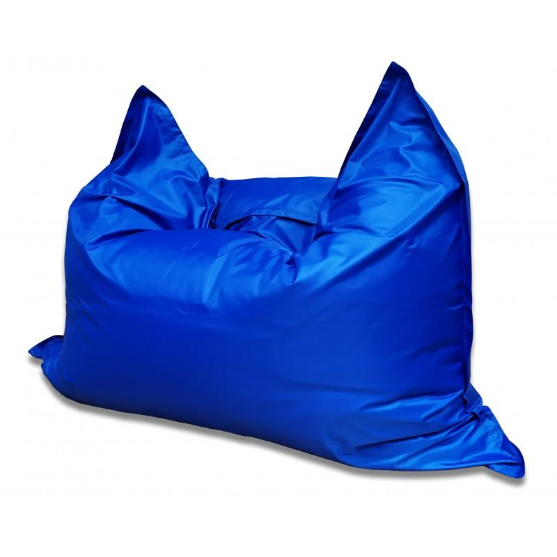 Мягкое кресло-мешок Подушка  цвет Синий (материал Дюспо)